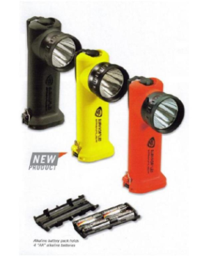 Streamlight Survivor LED Right-Angle Flashlight with Alkaline Batteries