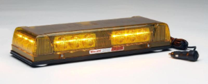 WHELEN Responder LP CON3 Super-LED Mini Lightbar, Mag Mount, Amber