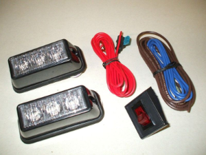 WHELEN TIR3 Super-LED Grill Light Kit
