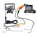 Rear View Backup Camera/Monitor Kit