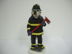 8'' Fire Dog Figurine