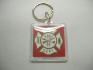 Fire Dept. Key Chain