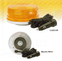 SHO-ME 360° LED Amber Beacon, Mag. Mount (SKU: 12-6253-A00)