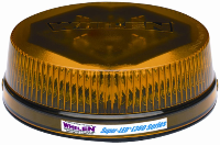 WHELEN L360 Super-LED Amber Beacon, Perm. Mount (SKU: L32LAF)