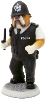 8'' Police Dog Figurine (SKU: 0901D)