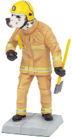 "8"" Fire Dog Figurine (SKU: 0901E)"