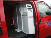 Weather Guard cargo partition