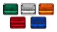 FEDERAL SIGNAL QuadraFlare 9x7 LED Warning Lights