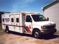 Sterlmar Equipment - Police Court Services wagon