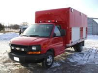 Sterlmar Equipment - Fire Rescue cube van