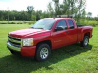 Sterlmar Equipment - Fire Utility Chevy Silverado 4x4 pickup truck