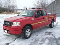 Sterlmar Equipment - Ford F-150 4x4 Fire Rescue Pickup Truck