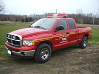 Sterlmar Equipment - Dodge Ram Fire Rescue Pickup Truck
