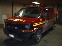 Sterlmar Equipment - Chevy 3500 Express Fire Utility Van
