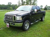 Sterlmar Equipment - Customer personal vehicle - Ford F-350 pickup truck